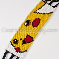 Pikachu 1.5 inch Friendship Bracelet by CarrieBea