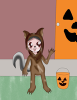 Chib's Halloween (HoY contest entry) by Bokeol