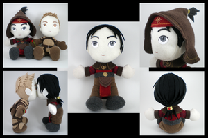 Dragon Age - Jowan plushie by eitanya