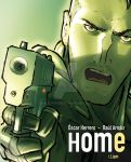 Comic 'HOME' Vol. 1. Character frame: Behrens. by RaulArnaiz