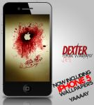 Dexter iPhone 4 / 5 Wallpaper Set by el3m3n7