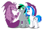 Love Triangle by DigiRadiance