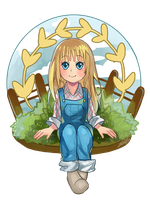 Harvest moon Claire by zeneria29