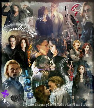 Jace and Clary unconditionally movie edition by JadeTheAngle777