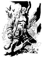 Hellboy by deankotz