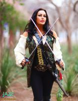Pirates of the CARIBBEAN: Anjelica Teach Cosplay by captainjaze