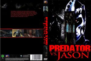 Predator vs. Jason DVD cover by SteveIrwinFan96