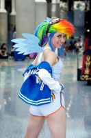 Rainbow Dash Cosplay by jamestheawesomepeach