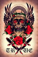 Skull'n'Roses II by DZNFlavour
