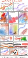 Manga Studio v5 Brushes and Actions - collection 2 by 888toto