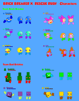 BBXRR Characters v2 - Main Characters by tetriser016