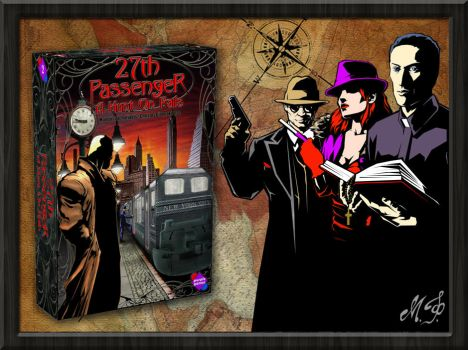 27th Passenger A Hunt on Rails Characters by MalDuDepart