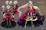 OC: Corona-The Witch Knight Reference by Ruri-dere