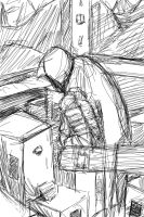 Assassin's Creed Sketch by LittlePigArt