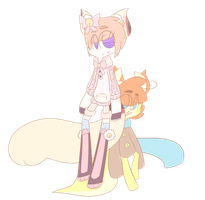 Luke and Kitty - Best Friends by PrinceChain