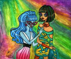 Cleo and Ghoulia - Dawn of the Dance by Jakov-Jakov