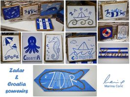 Zadar and Croatia souvenirs by Stardust-Splendor