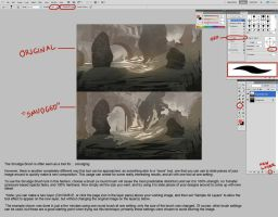 The Smudge Brush In Photoshop by JohnoftheNorth