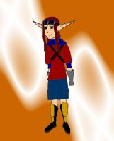 my jak and daxter character by AlphonseElric411