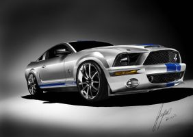 mustang GT 500 by thereaperM
