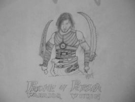 Prince of Persia: Warrior Within [Cover drawing] by Danchix