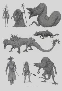 Creature Design by Kevin-Studios