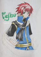 OC - Kyrou, colorpencils:: by gmLEN