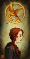 Katniss by Wynta-Illustrations