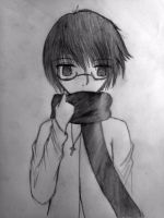 My scarf is too thick by UnitInfinity