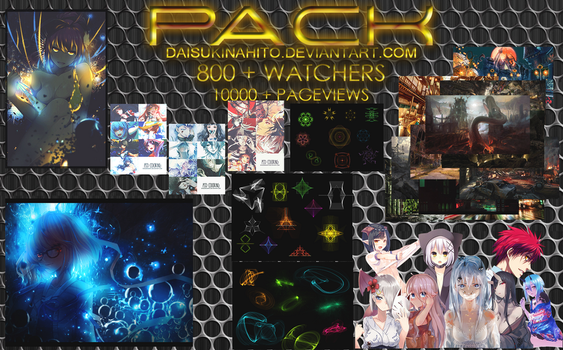 PACK HAPPY 800+ WATCHERS AND 10000+ PAGEVIEWS by LarAmb