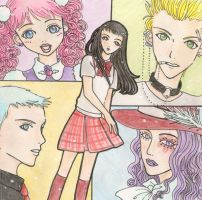 Paradise Kiss Fanart by superdonut