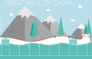 Edrac as long as Great Wall of China carde-app.com by CardeApp