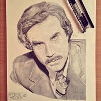 Ron Burgundy by Steve-Nice