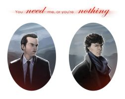 Sherlock BBC - You need me by maXKennedy