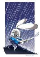 Usagi Yojimbo by Serapio