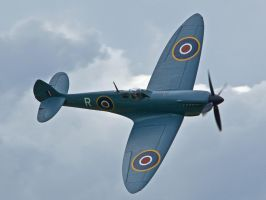 PR Spitfire Sywell by davepphotographer
