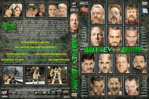 WWE Money in the Bank 2013 DVD Cover V4 by Chirantha