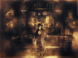 Undertaker Wallpaper ~ by AbdullahDesigner