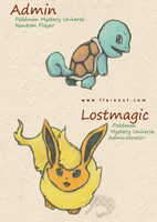 Flare Out: Admin and Lostmagic by Ankoku-Flare