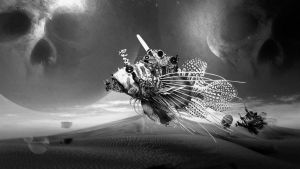 STEAMPUNK FISH wallpaper by MixeRBink