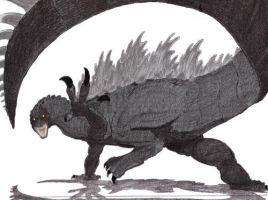 Godzilla '94 Color Attempt 2 by geekspace