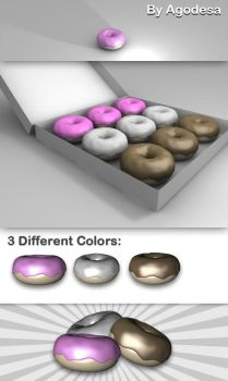 Delicious Donuts Models by agodesa