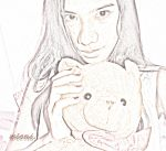 That's Me and My Bear.. by saccharine21