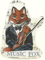 Music Fox Badge 2 by Dresden-Complex