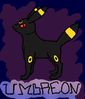 Umbreon by Snow-Feather1203