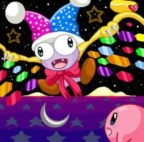 Marx vs Kirby by YogurtYard