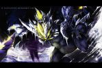 Vs. Kyurem by ItsOver900O