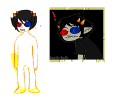 sollux wip by NatWithLeCopic