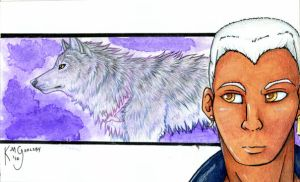 Wolf's Rain- Tsume by cloudstar-wolf