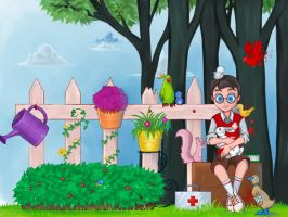 Team fortress : Medic kid by chinalover551989